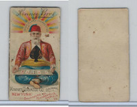 N227 Kinney, New Years Cards, 1890, Ace (L)