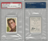 J0-0 Jibco Tea, Screen Stars, 2nd, 1956, #21 Howard Keel, PSA 9 Mint
