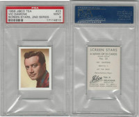J0-0 Jibco Tea, Screen Stars, 2nd, 1956, #23 Vic Damone, PSA 9 Mint