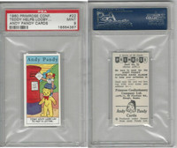 P0-0 Primrose Conf., Andy Pandy, 1960, #22 Teddy Helps, PSA 9 Mint