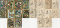 T57 American Tobacco Cards, 1910, Fables, Lot of 10 Different, PHX