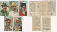 T113 Sub Rosa Tobacco Cards, 1910, Types Nations, Lot of 5 Different, PHX