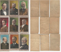 T175 American Tobacco Cards, 1901, Spanish War, Lot of 9 Different, PHX