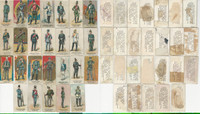 N224 Kinney Tobacco, Military 1887, Germany Soldiers, Lot of 26 Different, PHX