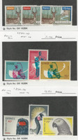 Guinea, Postage Stamp, #217-9, 245-7, 272-4 Mint NH, 1961-2, JFZ