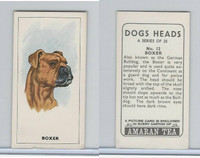 A0-0 Amaran Tea, Dogs Heads, 1965, #12 Boxer
