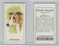 A0-0 Amaran Tea, Dogs Heads, 1965, #14 Greyhound