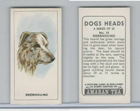 A0-0 Amaran Tea, Dogs Heads, 1965, #15 Deerhound
