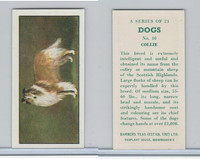 B0-0 Barbers Tea, Dogs, 1961, #10 Collie