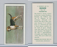 B0-0 Barbers Tea, Dogs, 1961, #13 Foxhound