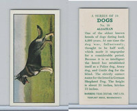 B0-0 Barbers Tea, Dogs, 1961, #16 Alsatian, German Shepard