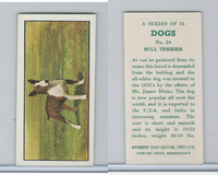 B0-0 Barbers Tea, Dogs, 1961, #24 Bull Terrier