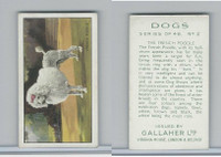 G12-81 Gallaher Tobacco, Dogs, 1936, #2 French Poodle