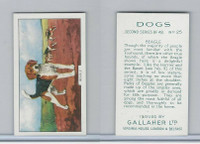 G12-81b Gallaher Tobacco, Dogs 2nd Series, 1938, #25 Beagle