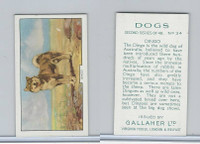 G12-81b Gallaher Tobacco, Dogs 2nd Series, 1938, #34 Dingo