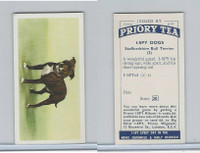 P0-0 Priory Tea, I Spy Dogs, 1957, #2 Staffordshire Bull Terrier