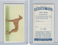 P0-0 Priory Tea, I Spy Dogs, 1957, #3 Greyhound