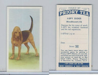 P0-0 Priory Tea, I Spy Dogs, 1957, #13 Bloodhound