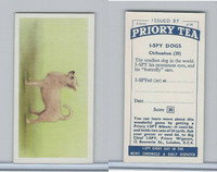 P0-0 Priory Tea, I Spy Dogs, 1957, #20 Chihuahua