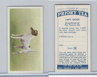 P0-0 Priory Tea, I Spy Dogs, 1957, #22 Fox Terrier