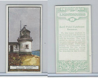 B0-0 British Tobacco Card, Lighthouses, #1 Anvil Point, Swanage