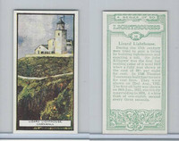 B0-0 British Tobacco Card, Lighthouses, #10 Lizard, Cornwall