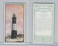 B0-0 British Tobacco Card, Lighthouses, #12 Spurn Head, Yorkshire