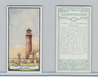 B0-0 British Tobacco Card, Lighthouses, #14 Lundy Isle