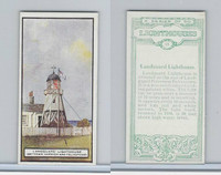 B0-0 British Tobacco Card, Lighthouses, #15 Languard, Harwich