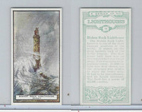B0-0 British Tobacco Card, Lighthouses, #16 Bishop Rock, Scilly