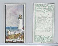 B0-0 British Tobacco Card, Lighthouses, #17 Trevose Head, Cornwall