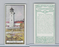 B0-0 British Tobacco Card, Lighthouses, #20 Godrevy, St. Ives