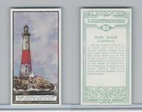 B0-0 British Tobacco Card, Lighthouses, #21 Dubh Artach, Ross of Mull