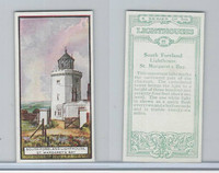B0-0 British Tobacco Card, Lighthouses, #22 South Foreland, St. Margaret's Bay