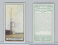 B0-0 British Tobacco Card, Lighthouses, #23 Sea Houses, Pier Head