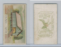 B116-151 BAT Eagle Cigarettes, Animals & Birds, 1912, #20 Barn