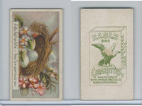 B116-151 BAT Eagle Cigarettes, Animals & Birds, 1912, #22 Nest, Eggs