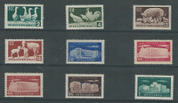 Bulgaria, Postage Stamp, #882-889, 887a Mint NH, 1955-56, JFZ
