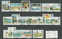 Guernsey, Postage Stamp, #283-302 Mint Hinged, 1984-5, JFZ