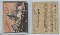 R165 Gum Inc, War News Pictures, 1939, #106 Sub Taxis Streamer's Crew (B)