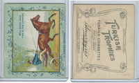 T62 Turkish Trophies, Fortune Series, 1910, Will Spend Much Time, Horse Cart