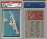 1954 Bowman, Power For Peace, #25 U.S.C.G. Cadets Cruise To Europe, PSA 7 NM