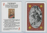 1995 US Games, Famous Generals Civil War, 10 Heart, William T. Sherman