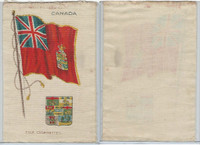S35 American Tobacco Silk, Flags & Arms, 1910, Canada (3 X 5 in)
