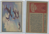 1954 Bowman, Power For Peace, #31 Four F-84 Thunder- Jets Over Japan