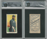 T206 ATC Baseball, 1909-11, Frank Smith, Chicago, GAI 4 VGEX
