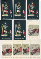 Postcard Lot of 10, Alabama, Holiday Inn Huntsville, Happy Birthday, JFZ