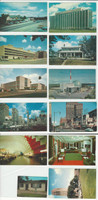 Postcard Lot of 11, Michigan H, Irish Hills, University Michigan, Detroit, JFZ