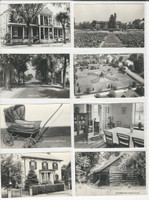 Postcard Lot of 8, Ohio A, Zoar Village, JFZ