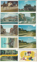 Postcard Lot of 10, Pennsylvania, Oil City, Gettysburg, Bedford, Franklin, JFZ